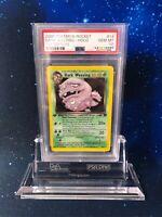 GEM MINT 1st 1. Edition PSA 10 Dark Weezing Holo 14/82 Team Rocket 2000 P011