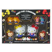 Hello Kitty Figure Set HELLO KITTY ACTION Series Sanrio Japan New Best Deal F/S