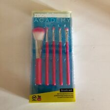 Models Own Academy 5pcs Brush Set Pink Beautiful Brand New And Authentic!