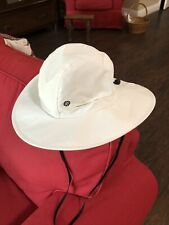 Uvoider White Bucket Hat - Upf 50+, Golf, Fishing, Hiking, Gardening, Outdoors L