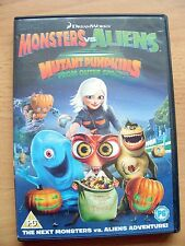 Monsters Vs Aliens Mutant Pumpkins From Outer Space - Genuine UK Region 2 DVD