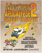 Munchkin Apocalypse 2: Sheep Impact Card Game Expansion From Steve Jackson Games