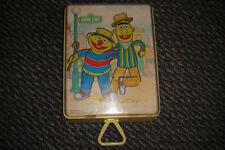 Vintage 1979 Sesame Street Toy - Bert & Ernie Side By Side Musical Dancing Dolls