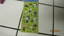 SNOOPY STICKERS SET OF 2 SHEETS 16 STICKERS A SHEET TOTAL 32 EASTER STICKERS