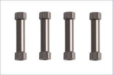Colonnine Supporto Alettone Alluminio (4) per Kyosho MP9 - IFW402-B - IFW402B