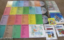 "KARAOKE LASER DISC lot  Pioneer Tip Top DKV Various Multiplex  12"" 8"" VIDEOS"