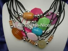 Acrylic LUCITE Focal Bead Pendant Necklace Party Bag Filler Fashion Jewellery 10