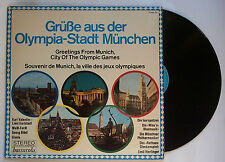 Orig.Record   XX.Olympic Games MÜNCHEN 1972 - Greetings from Munich  !!  RARE