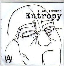 (BR830) I Am Immune, Entropy - DJ CD