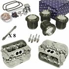 1641cc Air-cooled Vw Engine Rebuild Kit Top End Heads And Pistons