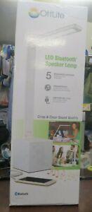 Ottlite LED Bluetooth Speaker Desk Lamp - White OPEN BOX