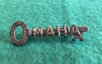 Vintage Omaha Key To The Situation City Pin