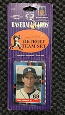 1989 Donruss Baseball Team Set Detroit Tigers