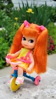 💕Vintage 1968 Mattel Skididdles Kiddle Tracy Trikediddle Silkstone Baby Diorama