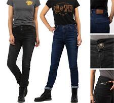 John Doe Betty High Damen Motorradjeans slim fit stretch Jeans moderate Bundhöhe