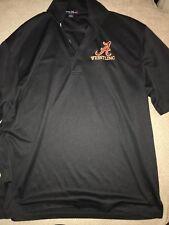 Men's Alabama Crimson Tide Wrestling Singlet Polo Golf Shirt Large L Black