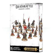 Deathrattle Barrow Lords Games Workshop Warhammer Age of Sigmar Undeath Skelette