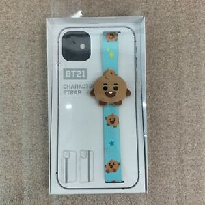 BT21 BABY SHOOKY Cell Phone Strap Holder Unopened Official LINE FRIENDS Merch