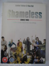 Shameless Complete Series 3 (DVD 3 Disc Set, 2006) Region 2 PAL