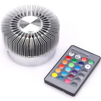 Colorful RGB Sun Flower Wall Lamp Surface Install LED Light Luminaire Lighting