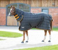 Shires Tempest Original 300G Full Neck Combo Horse Stable Rug in Black