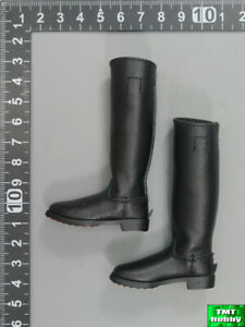 1:6 Scale DID D80147 WWII German Luftwaffe Captain Willi - Jackboots /Long Boots