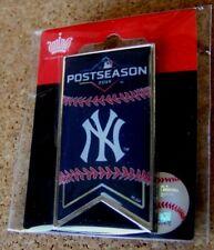 2019 NY New York Yankees Postseason participant banner pin MLB