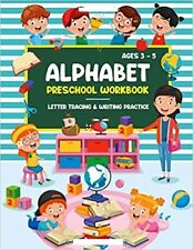 Alphabet Preschool Workbook: Letter Tracing Book for Kids.. PAPERBACK