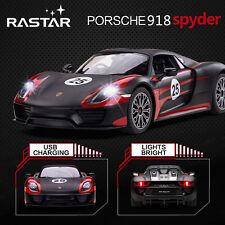 Licensed 1:14 Porsche 918 Spyder Electric RC Radio Remote Control Car Kid Toy
