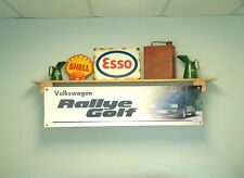 VW GOLF RALLYE G60 Banner WORKSHOP GARAGE VOLKSWAGEN display mostra segno in PVC