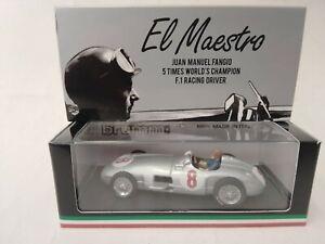 Brumm Mercedes W196 #8 J. M. Fangio World Champion 1955 GP Olanda 1/43 R072-CH