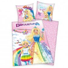 Barbie Dreamtopia Bettwäsche 80x80 135x200 cm