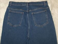 Womens Style & Co Tapered Leg Blue Denin Jeans Size 14 Stretch EUC