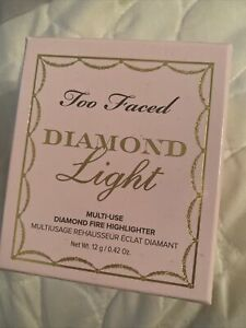 Too Faced Diamond Light New/Sealed Highlighter in Diamond Fire 0.42 oz/12g
