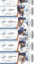 Los Angeles Dodgers Baseball Vintage Ticket Stubs