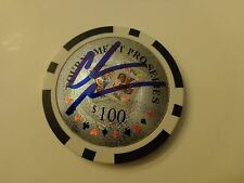 CHRIS MONEYMAKER World Series of Poker WSOP Signed Autographed POKER CHIP