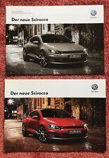 Volkswagen VW Der neue Scirocco III Typ 13 Prospekt Katalog + Preisliste NEU