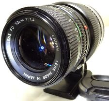 Canon FD 50mm f1.4 with 1:1 Macro Adapter Lens Manual Focus for SONY E cameras 6