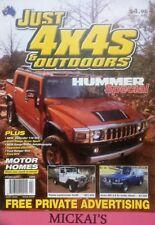 JUST 4X4 FEBRUARY 2009 ISSUE 228 - HUMMER 3, FORD RANGER, MOTOR HOMES, DEFENDER