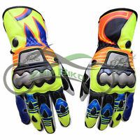 MotoGp Leather Motorbike Leather Gloves Motorcycle Gloves