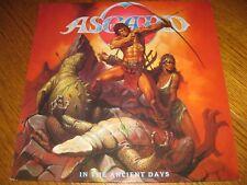 Asgard-In the ancient days LP, Noise International Germany 1986, rar, unplayed!