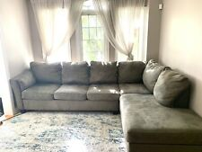 used leather sectional sofa