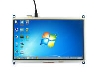 "1024×600 10.1"" Resistive Touch Screen HDMI Display I/O for Raspberry Pi"