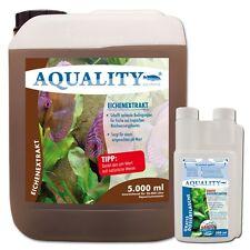 (4,60€/l) AQUALITY Eichenextrakt 5 Liter pH Minus senkt den pH Wert im Aquarium