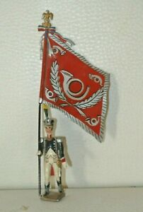 CBG Mignot - Ring Flag Of Eagles Of L'em Worse - The Chasseurs A Foot 1812