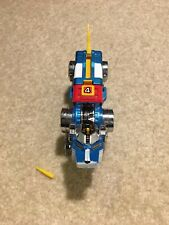 Vintage Voltron Blue Lion Die-cast Action Figure Incomplete with Yellow Missile