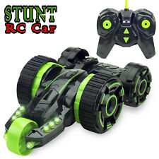 RC Cars Stunt Five Wheels Race Remote Control Vehicle with LED Headlights toys