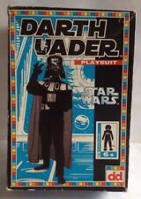 DARTH VADER PLAYSUIT (6+) DEKKER TOYS STAR WARS 1995 1990s COSTUME MASK