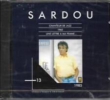 CD MICHEL SARDOU LES ORIGINAUX VOL 13 9T 1985 NEUF SCELLE INCLUS CHANTEUR DE JAZ