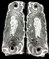 1911 SAN JUDAS ST. JUDE GUN GRIPS CACHAS FITS COLT SPRINGFIELD KIMBER ROCKISLAND
